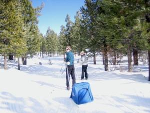 Ski and sled