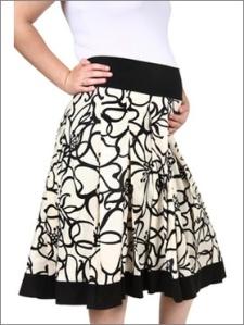 Perkal skirt