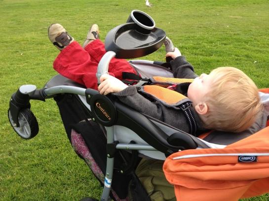 stroller wheelie