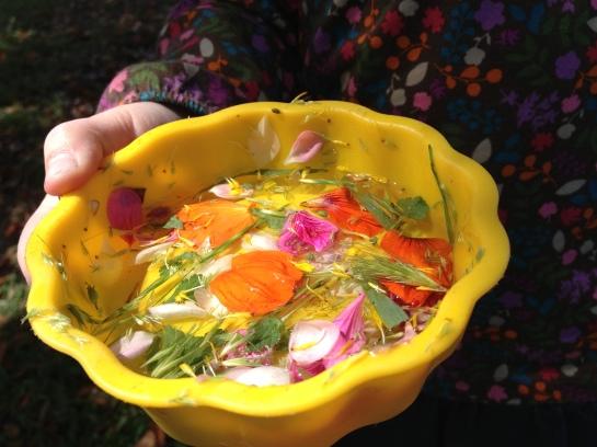 Flower soup