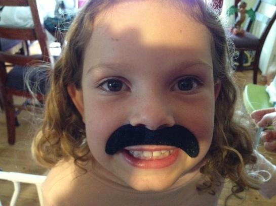 CH moustache