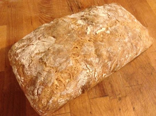 Ciabatta loaf 1
