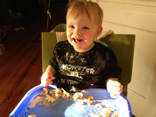 Number Two eating mess 2