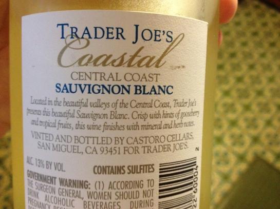 TJ wine