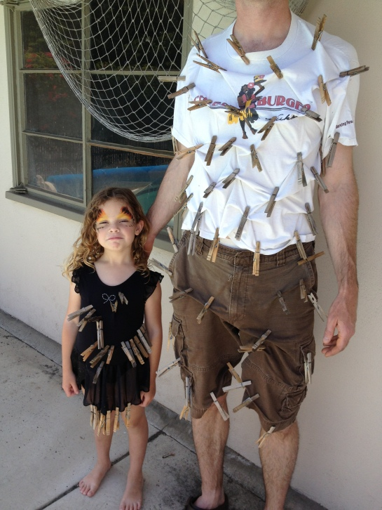 Clothespin outfits