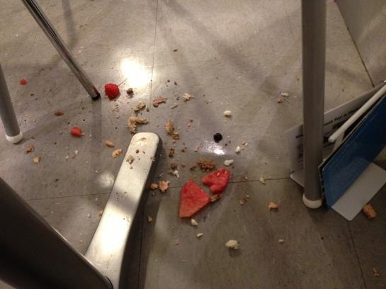 IKEA mess 1